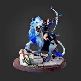 Mirana Princess of the Moon Collectible Statue