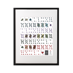 Limited Edition Uncut Playing Cards Signed Art Print