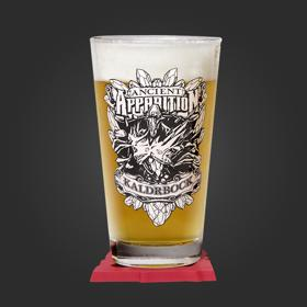 Ancient Apparition Pint Glass and Coaster Set