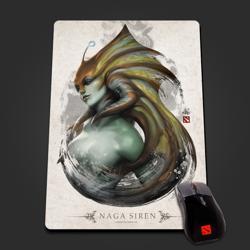 Naga Siren Portrait Mousepad