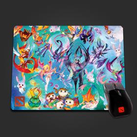Mousepad of the Colorful Champions