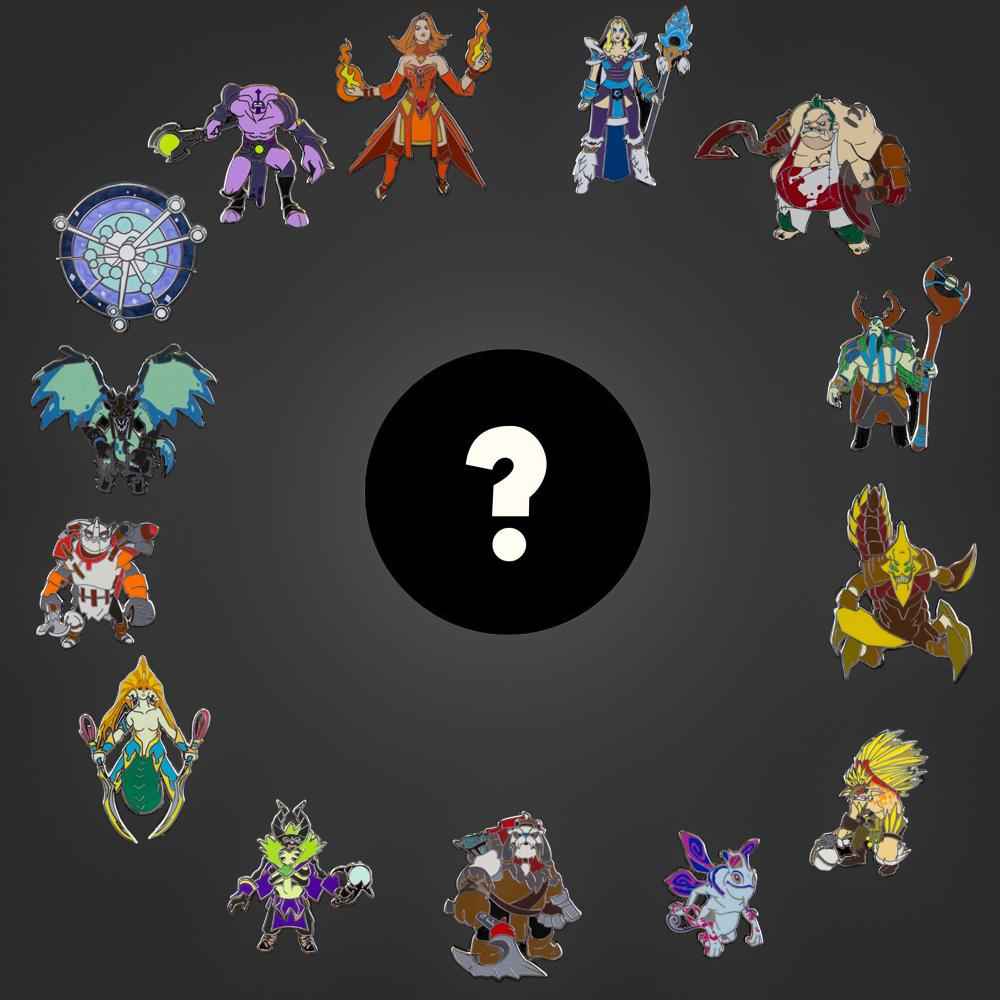 valve store dota 2 blindbox collectible pins