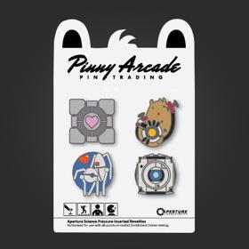 Pinny Arcade Portal Pin Set