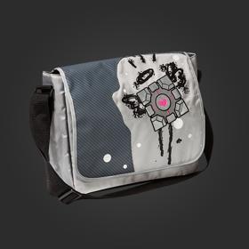 Companion Cube Messenger Bag