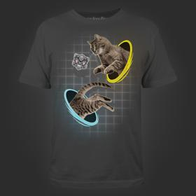 Portal Jumping Cat