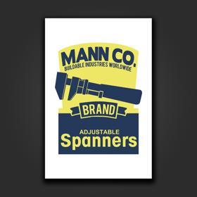 Spanner Mann Co. Logo