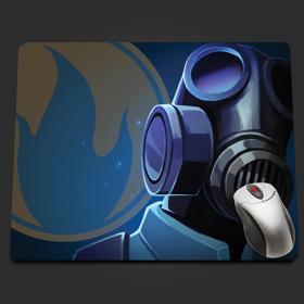 Blu Pyro Extreme Closeup