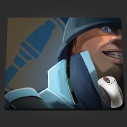 Blu Soldier Extreme Closeup