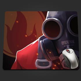 Red Pyro Extreme Closeup