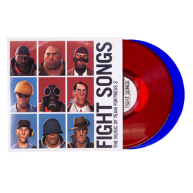 Fight Songs: The Music of Team Fortress 2 Vinyl