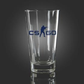 CS:GO Blue Pint Glass