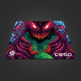 SteelSeries: CS:GO Hyper Beast Edition Gaming Mousepad