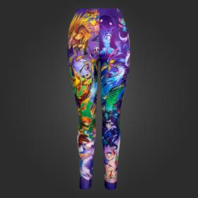Watercolor Hero Leggings